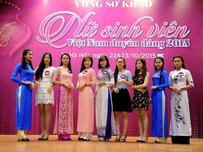 Gần 200 thí sinh Nữ sinh viên Việt Nam duyên dáng khoe nét cá tính ảnh 1
