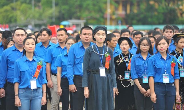 445 đại biểu Thanh niên tiên tiến báo công dâng Bác ảnh 4