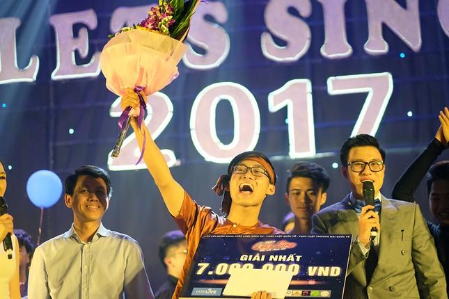 Hát hit của Lê Cát Trọng Lý, giọng ca Luật giành quán quân Let's Sing 2017 ảnh 8