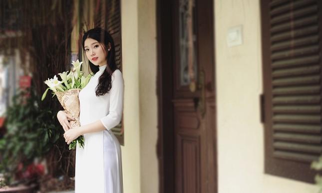 Lộ diện thí sinh hoa khôi sinh viên Hà Nội khả ái ảnh 3