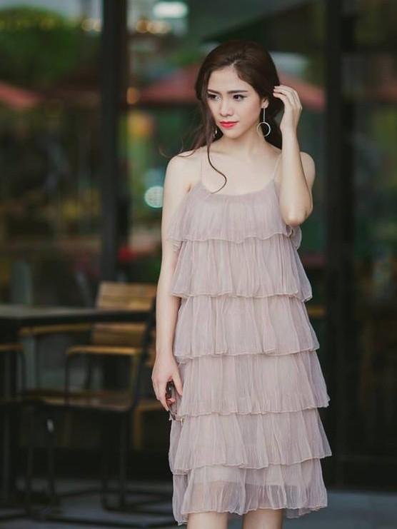 Lộ diện thí sinh hoa khôi sinh viên Hà Nội khả ái ảnh 14