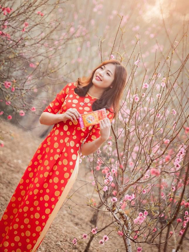 Lộ diện thí sinh hoa khôi sinh viên Hà Nội khả ái ảnh 9