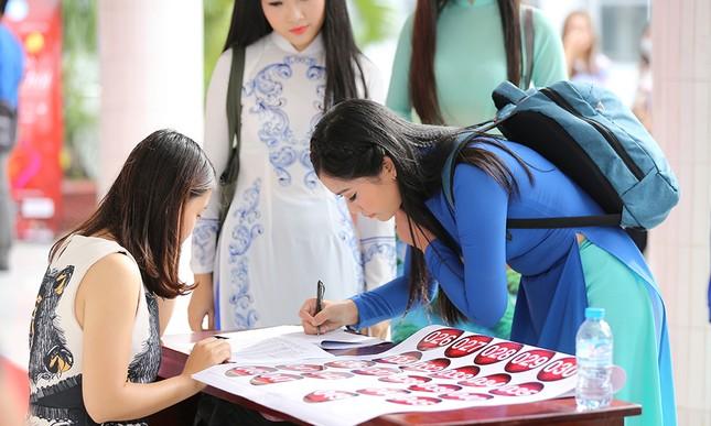 Hoa khôi sinh viên Việt Nam 2017 xuất hiện nhiều gương mặt sáng giá ảnh 2