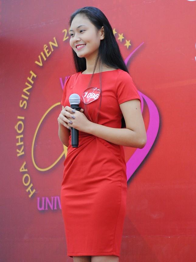 Những gương mặt nổi bật tại vòng sơ khảo 'Hoa khôi Sinh viên Việt Nam' ảnh 9