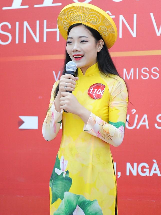 Những gương mặt nổi bật tại vòng sơ khảo 'Hoa khôi Sinh viên Việt Nam' ảnh 8