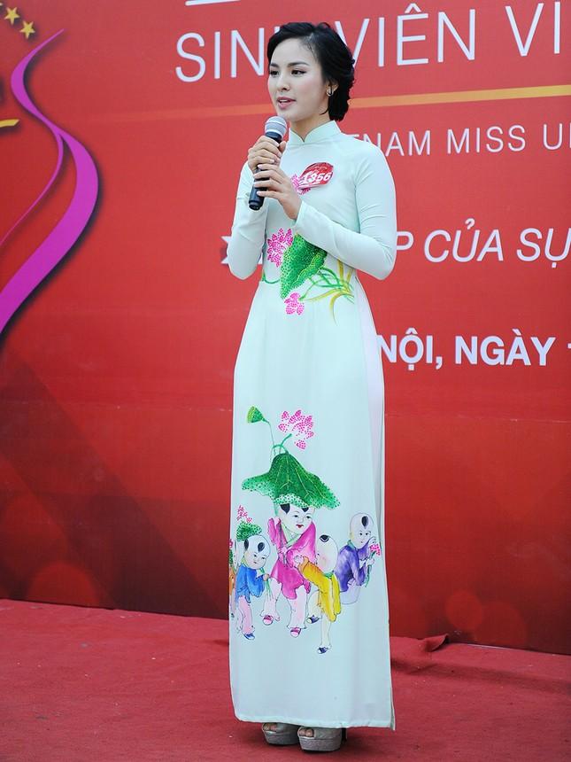 Những gương mặt nổi bật tại vòng sơ khảo 'Hoa khôi Sinh viên Việt Nam' ảnh 2
