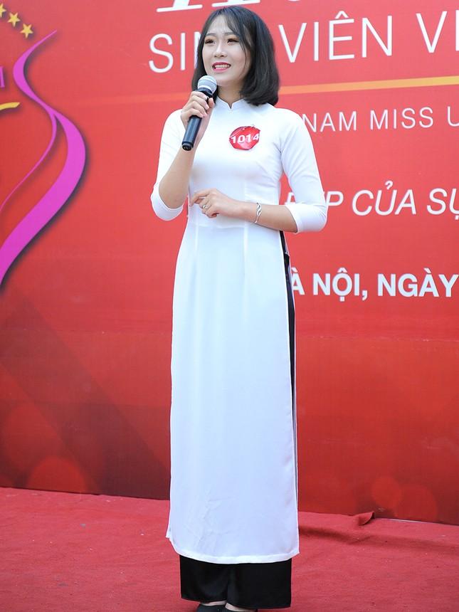 Những gương mặt nổi bật tại vòng sơ khảo 'Hoa khôi Sinh viên Việt Nam' ảnh 5