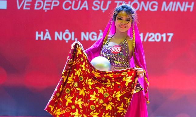 Nhan sắc các nữ sinh miền Bắc vào Chung kết Hoa khôi Sinh viên Việt Nam ảnh 2