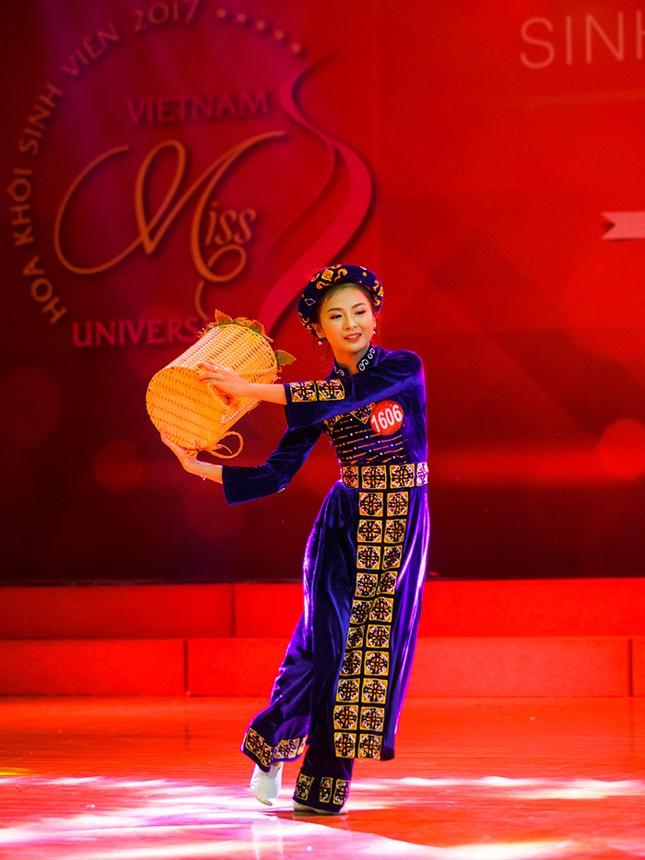 Nhan sắc các nữ sinh miền Bắc vào Chung kết Hoa khôi Sinh viên Việt Nam ảnh 6