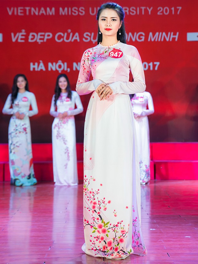 Nhan sắc các nữ sinh miền Bắc vào Chung kết Hoa khôi Sinh viên Việt Nam ảnh 12