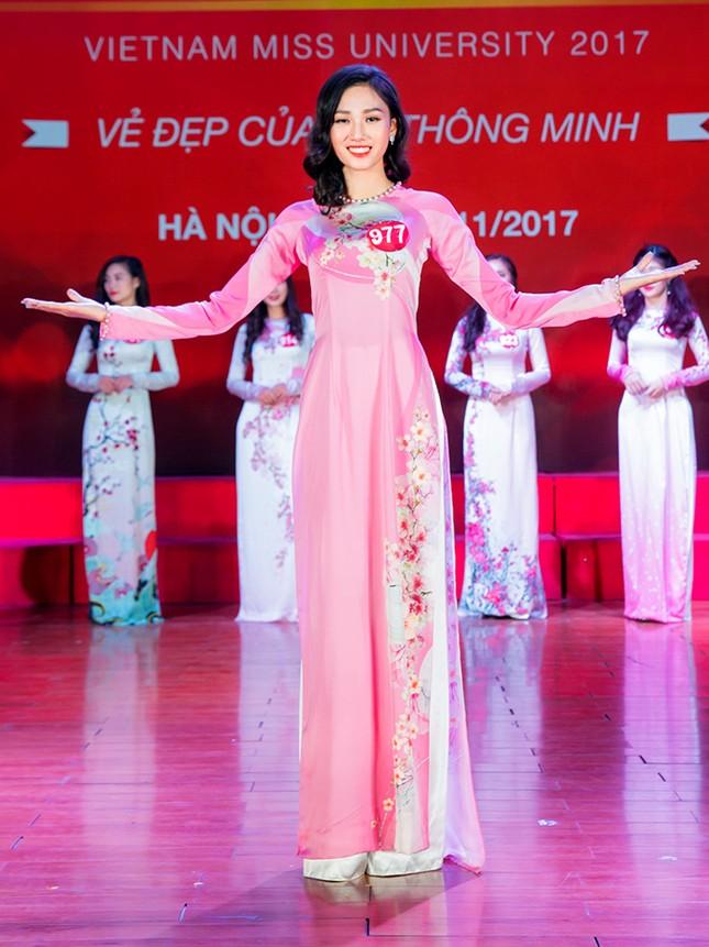 Nhan sắc các nữ sinh miền Bắc vào Chung kết Hoa khôi Sinh viên Việt Nam ảnh 8