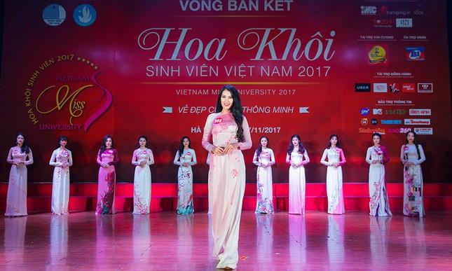 Nhan sắc các nữ sinh miền Bắc vào Chung kết Hoa khôi Sinh viên Việt Nam ảnh 7