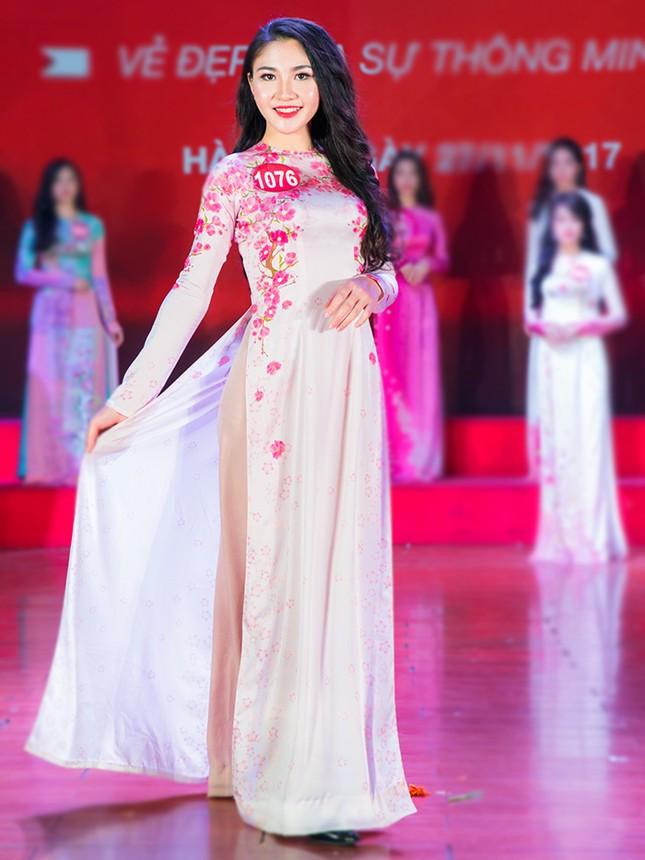 Nhan sắc các nữ sinh miền Bắc vào Chung kết Hoa khôi Sinh viên Việt Nam ảnh 11