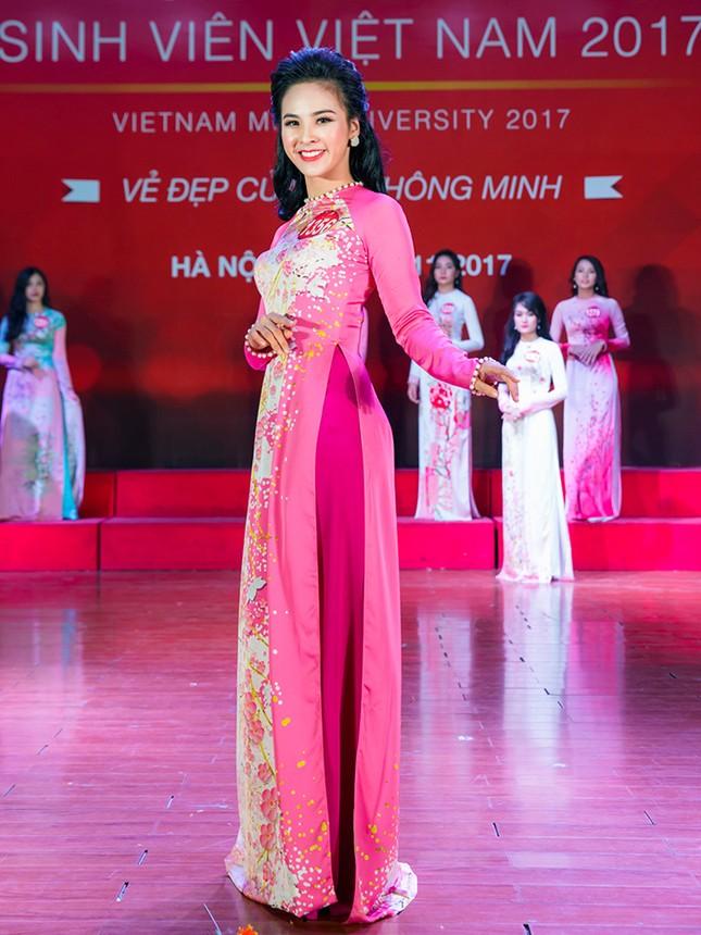 Nhan sắc các nữ sinh miền Bắc vào Chung kết Hoa khôi Sinh viên Việt Nam ảnh 10