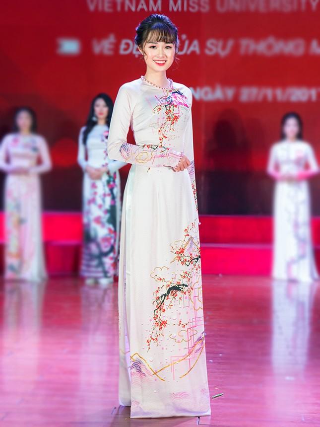 Nhan sắc các nữ sinh miền Bắc vào Chung kết Hoa khôi Sinh viên Việt Nam ảnh 9