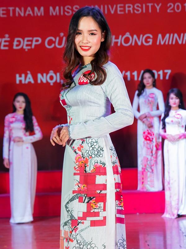 Nhan sắc 45 thí sinh Chung kết Hoa khôi Sinh viên Việt Nam 2017 ảnh 40