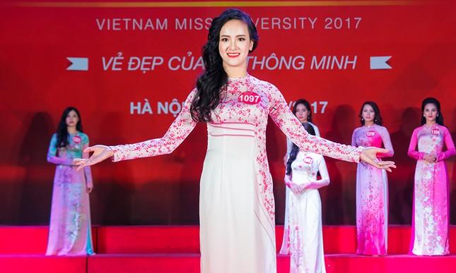 Nhan sắc 45 thí sinh Chung kết Hoa khôi Sinh viên Việt Nam 2017 ảnh 16