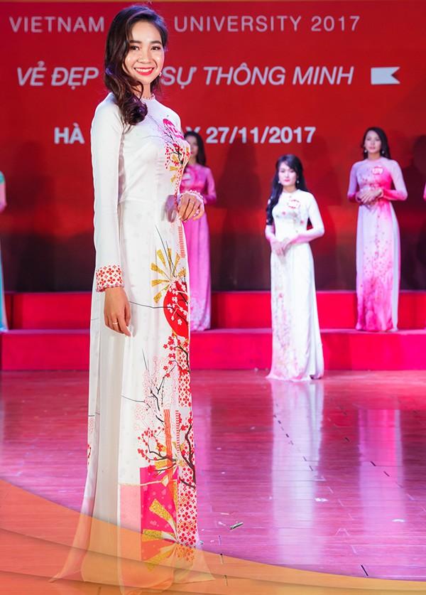 Nhan sắc 45 thí sinh Chung kết Hoa khôi Sinh viên Việt Nam 2017 ảnh 39