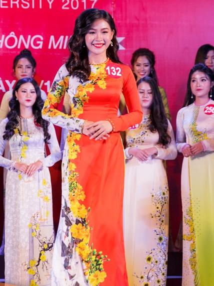 Nhan sắc 45 thí sinh Chung kết Hoa khôi Sinh viên Việt Nam 2017 ảnh 21