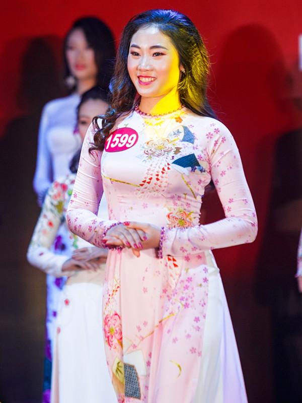 Nhan sắc 45 thí sinh Chung kết Hoa khôi Sinh viên Việt Nam 2017 ảnh 41