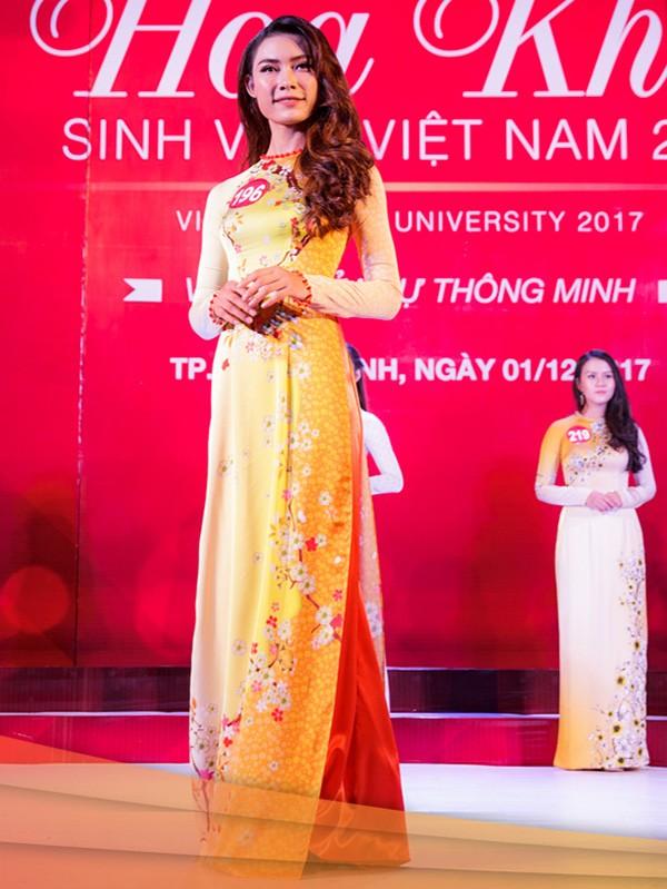 Nhan sắc 45 thí sinh Chung kết Hoa khôi Sinh viên Việt Nam 2017 ảnh 20