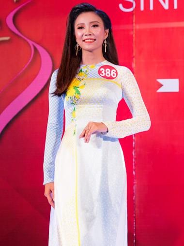 Nhan sắc 45 thí sinh Chung kết Hoa khôi Sinh viên Việt Nam 2017 ảnh 24
