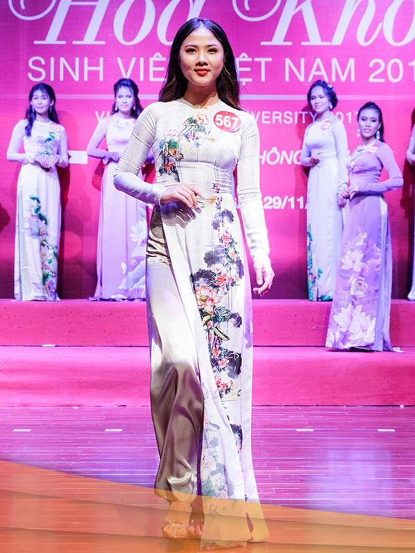 Nhan sắc 45 thí sinh Chung kết Hoa khôi Sinh viên Việt Nam 2017 ảnh 30