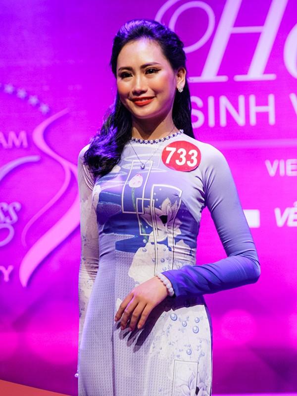 Nhan sắc 45 thí sinh Chung kết Hoa khôi Sinh viên Việt Nam 2017 ảnh 31