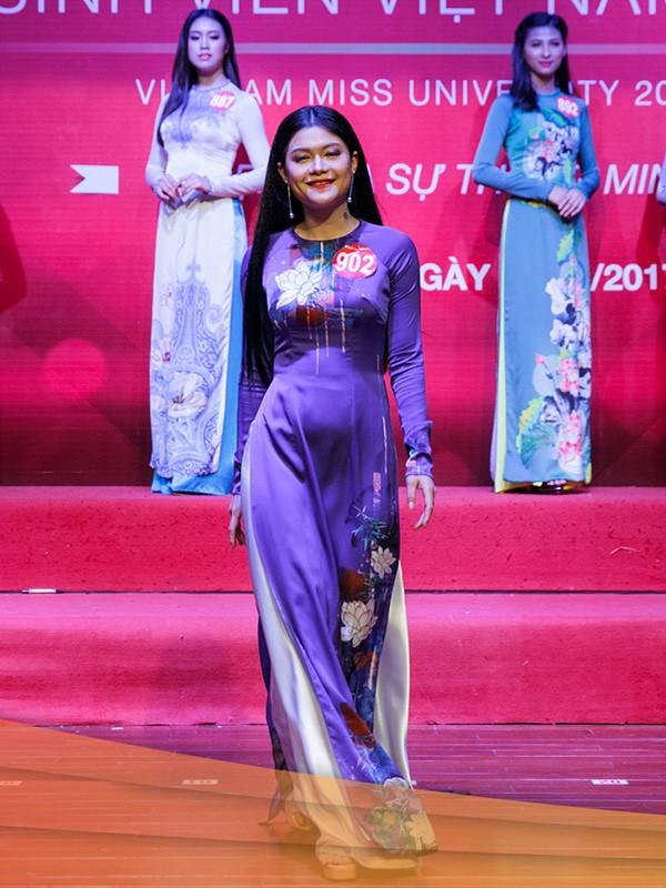 Nhan sắc 45 thí sinh Chung kết Hoa khôi Sinh viên Việt Nam 2017 ảnh 34