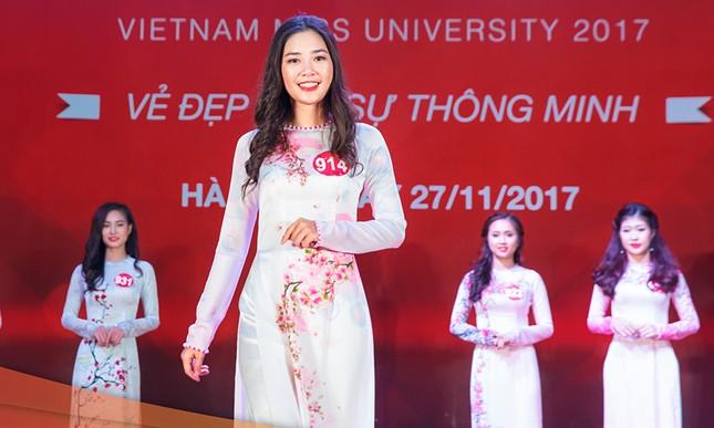Nhan sắc 45 thí sinh Chung kết Hoa khôi Sinh viên Việt Nam 2017 ảnh 17