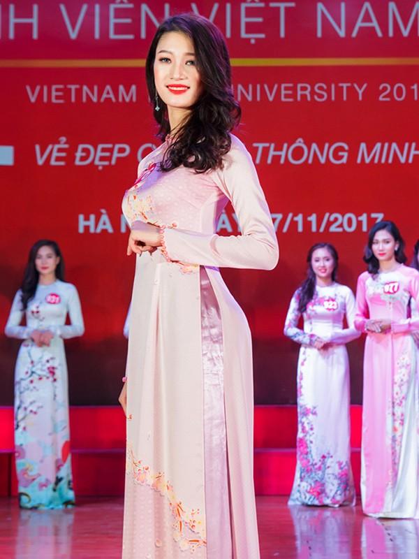 Nhan sắc 45 thí sinh Chung kết Hoa khôi Sinh viên Việt Nam 2017 ảnh 37