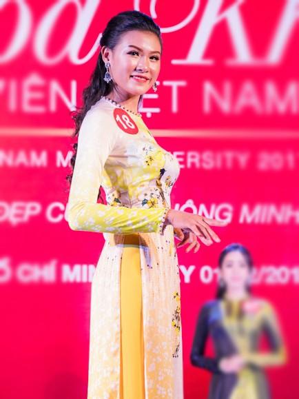 Nhan sắc 45 thí sinh Chung kết Hoa khôi Sinh viên Việt Nam 2017 ảnh 6