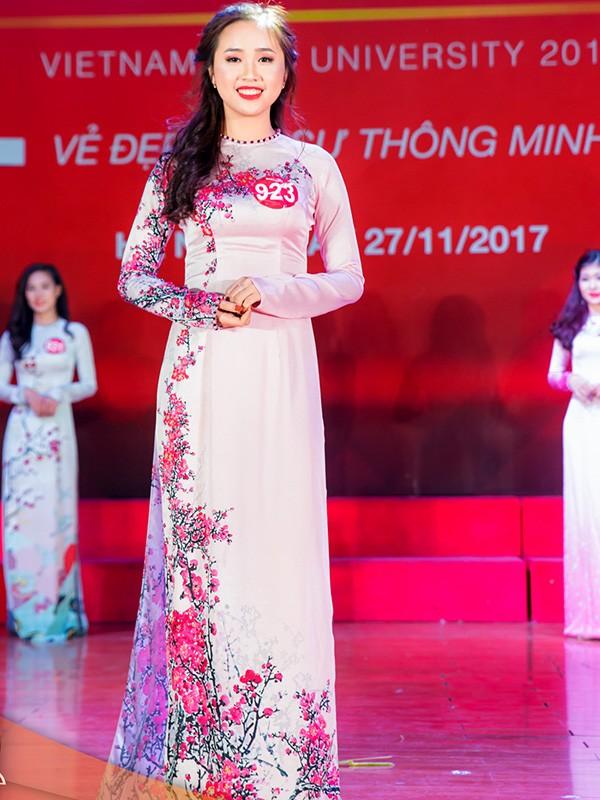 Nhan sắc 45 thí sinh Chung kết Hoa khôi Sinh viên Việt Nam 2017 ảnh 45