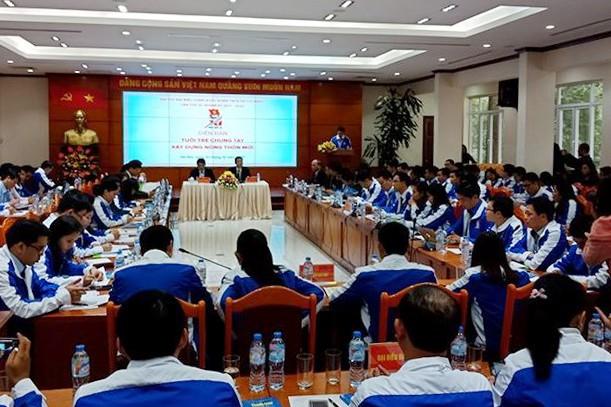 1000 đại biểu Đại hội Đoàn toàn quốc đối thoại với 'tư lệnh' 8 ngành ảnh 7