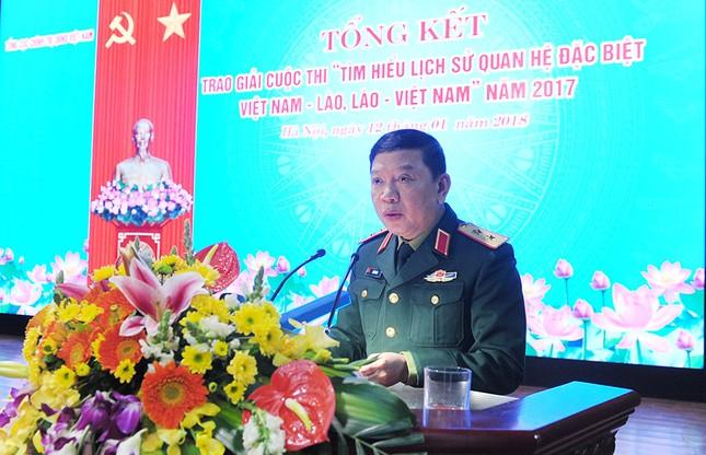 Tổng cục Chính trị QĐNDVN trao giải về tìm hiểu lịch sử quan hệ Việt-Lào ảnh 2