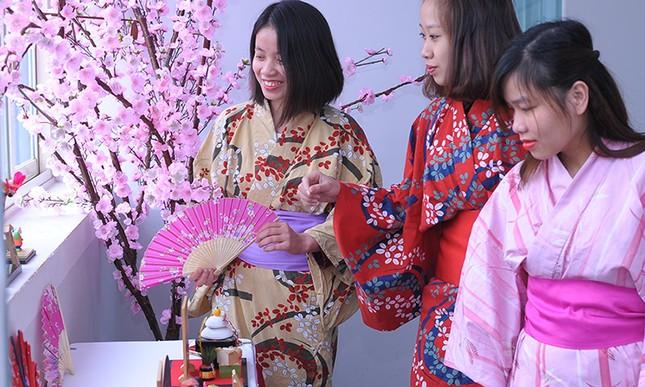 Giới trẻ Hà thành trải nghiệm trà đạo, kimono ảnh 4