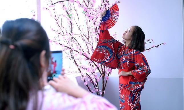 Giới trẻ Hà thành trải nghiệm trà đạo, kimono ảnh 3