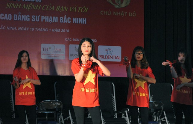 Tuổi trẻ Bắc Ninh hào hứng tham gia Chủ nhật Đỏ ảnh 1