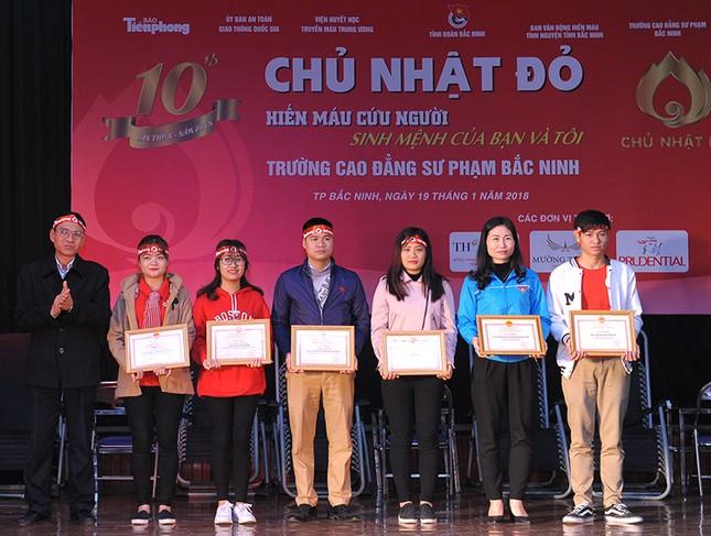 Tuổi trẻ Bắc Ninh hào hứng tham gia Chủ nhật Đỏ ảnh 12