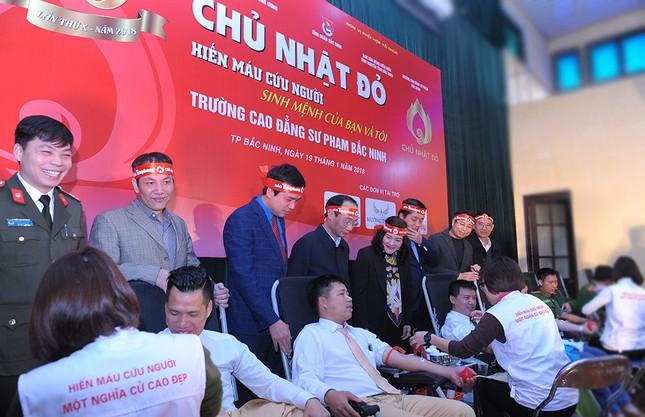 Tuổi trẻ Bắc Ninh hào hứng tham gia Chủ nhật Đỏ ảnh 9