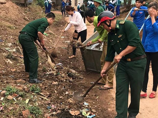 Tháng Thanh niên 2018: Tuổi trẻ quân đội chung tay bảo vệ môi trường ảnh 1
