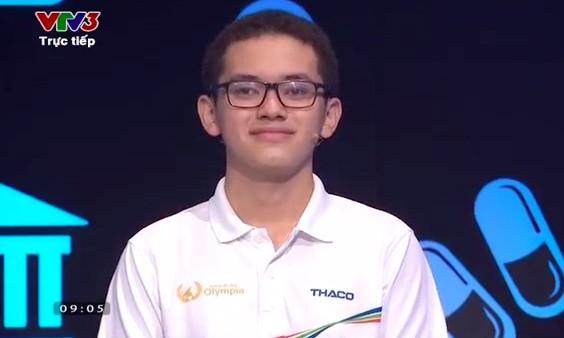 Kỷ lục gia Nguyễn Hoàng Cường vô địch Chung kết Đường lên đỉnh Olympia ảnh 3