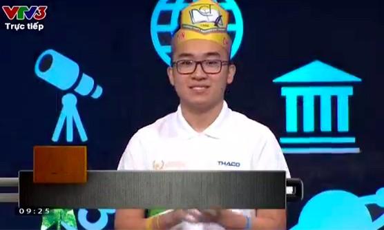Kỷ lục gia Nguyễn Hoàng Cường vô địch Chung kết Đường lên đỉnh Olympia ảnh 2