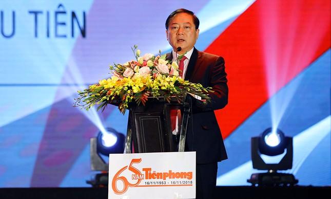 Trang trọng buổi gặp mặt kỷ niệm 65 năm báo Tiền Phong ra số đầu tiên ảnh 4