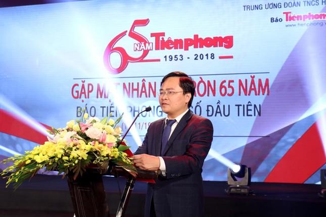 Trang trọng buổi gặp mặt kỷ niệm 65 năm báo Tiền Phong ra số đầu tiên ảnh 3