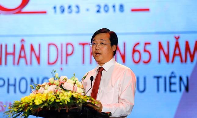 Trang trọng buổi gặp mặt kỷ niệm 65 năm báo Tiền Phong ra số đầu tiên ảnh 7