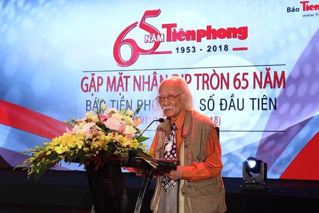 Trang trọng buổi gặp mặt kỷ niệm 65 năm báo Tiền Phong ra số đầu tiên ảnh 5