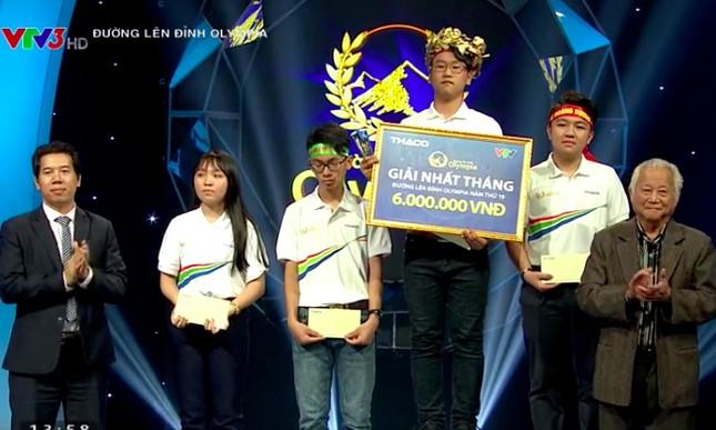 10X Thái Bình nhất vòng thi 'không dành cho người yếu tim' Olympia ảnh 2