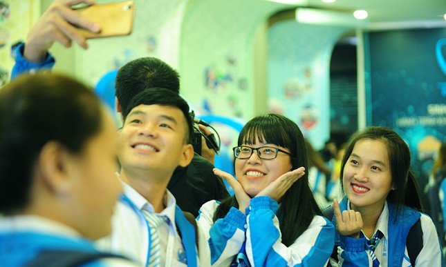 690 đại biểu quét mã vạch vào tham dự Đại hội toàn quốc Hội Sinh viên ảnh 7
