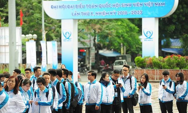 690 đại biểu quét mã vạch vào tham dự Đại hội toàn quốc Hội Sinh viên ảnh 5